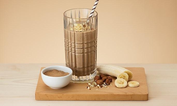Смузи бананово-шоколадный