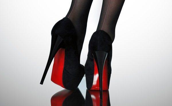 Женская обувь, Высокий каблук
